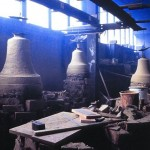 stone bells in a workshop