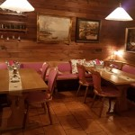 Chalet style restaurant